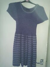Joe Browns Purple Knitted Dress Size 16