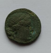 ANCIENT GREEK BRONZE COIN. MESEMBRIA, THRACE. 400-350 B.C.