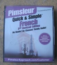 Qick and simple French Primsleur 4 CD's used