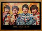 Beatles Photomosaic by Robert Silvers Authentic Licensed 1999 Poster