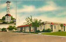 Linen Roadside Postcard Idlewild Motel, Lakewood, Colorado (Denver) used 1954