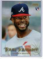 Touki Toussaint 2019 Topps Stadium Club 5x7 Gold #3 /10 Braves