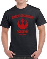 618 Rogue Squadron Academy mens T-shirt star geek nerd wars jedi cosplay costume