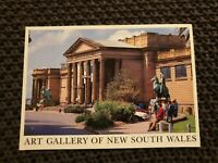 The Art Gallery of NSW - Vintage Postcard