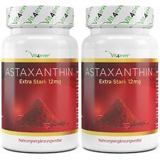 2x Astaxanthin 12 mg = 140 Softgel Kapseln - natürlicher Antioxidant Softgels