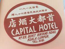 Luggage Label Capital Hotel, Kuala Lumpur