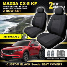 Mazda CX-5 KF Black Seat Covers 2ROWs MAXX SPORT GT Akera Touring 2/2017-18 CX5