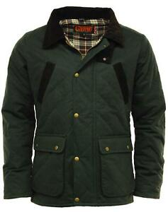 GAME OXFORD Mens Wax Jacket - Olive