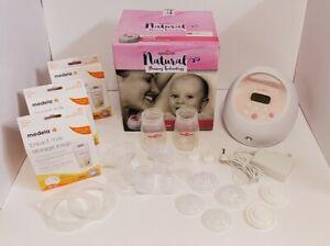 Spectra Premier S2 Plus Electric Breast Pump Double Pump & Storage Bags *Read*