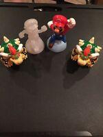 Lot Of 4 Super Mario McDonalds Toys