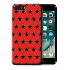 Étuis, housses et coques rouge iPhone 7 en silicone, caoutchouc, gel pour téléphone mobile et assistant personnel (PDA)