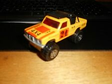 Matchbox Lesney 1981 4x4 Open Back Truck Cibie 24 Yellow Orange