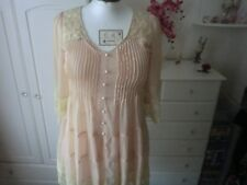 BNWT Biscuit top/dress size S