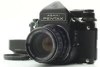 【MINT w/ Hood】 PENTAX 6x7 67 TTL Mirror -UP , SMC Takumar 105mm f2.4  from JAPAN