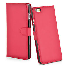 Luxury Leather Card Wallet Flip Case Cover for Apple iPhone 7