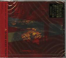 "OST-METAL GEAR SOLID V ORIGINAL SOUNDTRACK ""THE LOST TAPES""-JAPAN CD+BOOK G61"