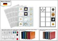 5 LOOK 1-7400 Münzhüllen PREMIUM 12x  50x50 mm Für Hartberger Münzrähmchen