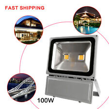 100W Led 120V FloodLight Cool White Outdoor Garden Spot Security Lamp Ip65 Us
