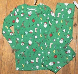 NWT Baby Gap girls boys xmas holiday pajamas  Size 6   small