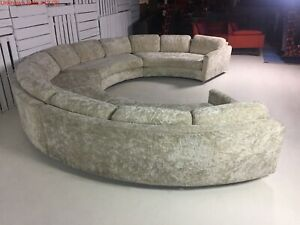 Vintage Adrian Pearsall Craft Associates Authentic Sofa Sectional w/Tags Rare!