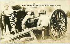 Ohio ~ COLUMBUS UPPER ARLINGTON ~ Camp Willis Artillery Battery B Postcard 18796