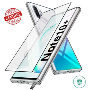 For Galaxy Note10+ S20+ Case Clear Hybrid Protective Bumper Rugged Full Cover