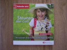 Spruchkarten-Kalender 2012 mit biblischen Sprüchen zum Aufstellen o. Aufhängen