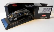 Minichamps / Kyosho 1:43 Lamborghini Countach LP400 1974 black with emblem rare