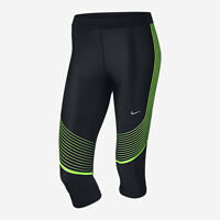 Nike 801694 Women's $110 Power Speed Capri Pants Running Training Capris Gym