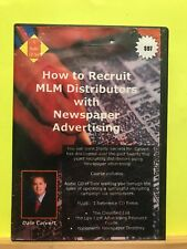 Used ~ How to Recruit MLM Distributors with Newspaper Advertising (CD 4-Disc Set