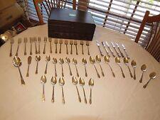 Rogers Bros. 1847 IS Adoration silverware flatware serving pieces box set 44