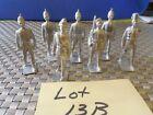 7 Lead Soldier Figurines