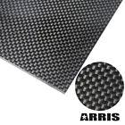 ARRIS 400X500 100% 3K Carbon Fiber Plate Plain Weave Sheet (Glossy Surface)