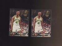 1993-94 Topps Stadium Club Members Only #222 Shawn Kemp Supersonics Lot of 2