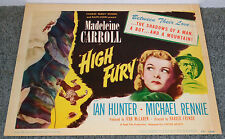 High Fury 1948 movie poster Mountain Climbing/Madeleine Carroll/Michael Rennie