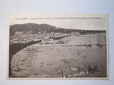 Cannes - Vue générale - Le Port - La Jetée Albert Edouard - La pointe de .. / AK