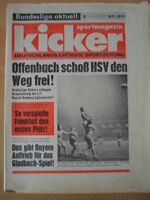 KICKER 83 - 10.10. 1974 HSV-Köln 3:1 Düsseldorf-Gladbach 3:2 Hertha-Schalke 1:0