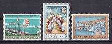 GREECE 1969 INTERNATIONAL TOURISM YEAR (ships-ports) MNH (Vl.1064/1066)