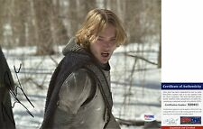 Toby Regbo Signed 8x10 Reign King Francis PSA/DNA
