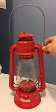 VINTAGE DIETZ JUNIOR Red Kerosene Lantern No 20 Lamp