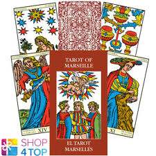 MINI TAROT OF MARSEILLE CARDS ORACLE ESOTERIC FORTUNE TELLING LO SCARABEO NEW
