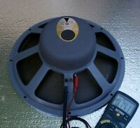 1 Rare Vintage JBL 130B 32 Ohms Woofer Speaker Rare Jim Lansing Need Recone