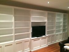 MDF/Chipboard-Wood Effect Entertainment Wall Units Stands | eBay