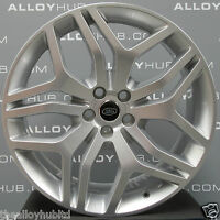 "GENUINE RANGE ROVER L494 SPORT STYLE 17 22""INCH SILVER ALLOY WHEELS X4,DISCOVERY"