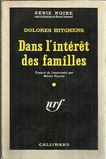 DOLORES HITCHENS DANS L'INTERET DES FAMILLES