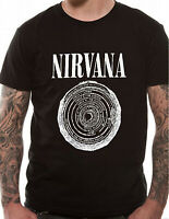 OFFICIAL Nirvana T Shirt Smiley Vestibule 9 Circles of Hell Dantes Inferno SMLXL