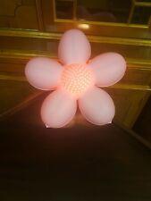 Ikea  Flower Wall Lamp Night Light Pink Girls Room.