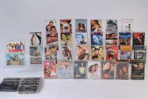 Bollywood Music & Film Cassette Bundle Job Lot Ghulam Films & More 30+