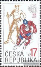 República Checa 558 (compl.edición) nuevo con goma original 2008 hockey sobre hi