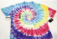 New Sz Xl Mens Nike We Take You Higher Rainbow Tie Dye Oversized Tee Bq1031-100